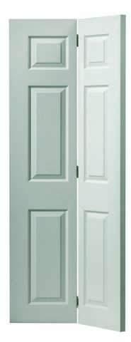 JB Kind Internal White Colonist Grained Bi-Fold Door