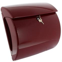 Burg-Wachter Piano 886 M Post Box in Merlot