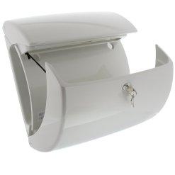 Burg-Wachter Piano 886 W Post Box in White