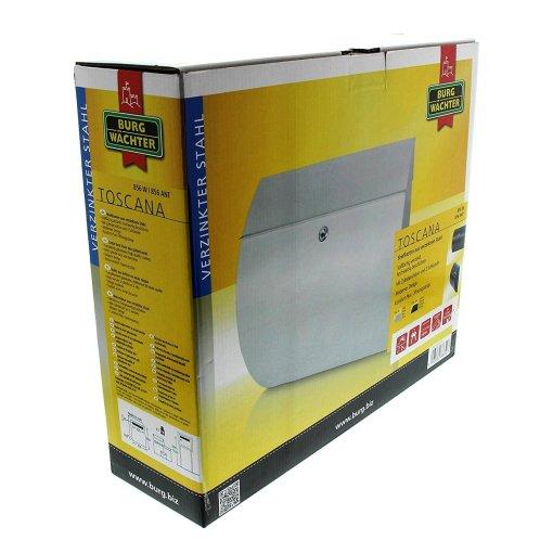 Burg-Wachter Toscana 856 W Post Box in White