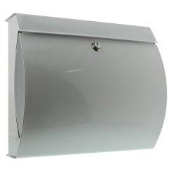 Burg-Wachter Verona 884 W Post Box in White