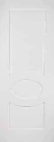 LPD Internal Bordeaux White Prime Plus Fire Door