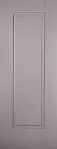 LPD Internal Grey Eindhoven 1 Panel Primed Fire Door