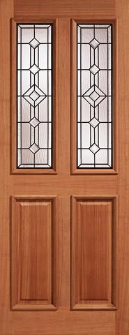 LPD External Mortice & Tenon Derby I.G.Lead Glazed Hardwood Door