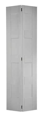 LPD Internal Bifold White Primed Shaker 4 Panel Door