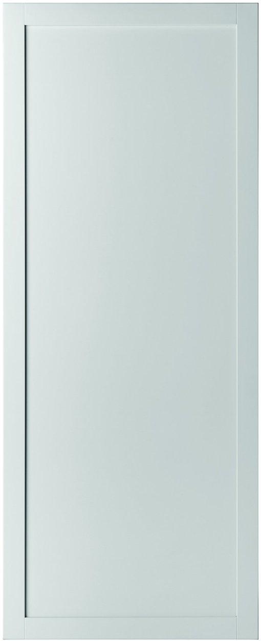 Weekamp Doors Internal Industrial Style 1 Panel White Door with 80mm Stiles