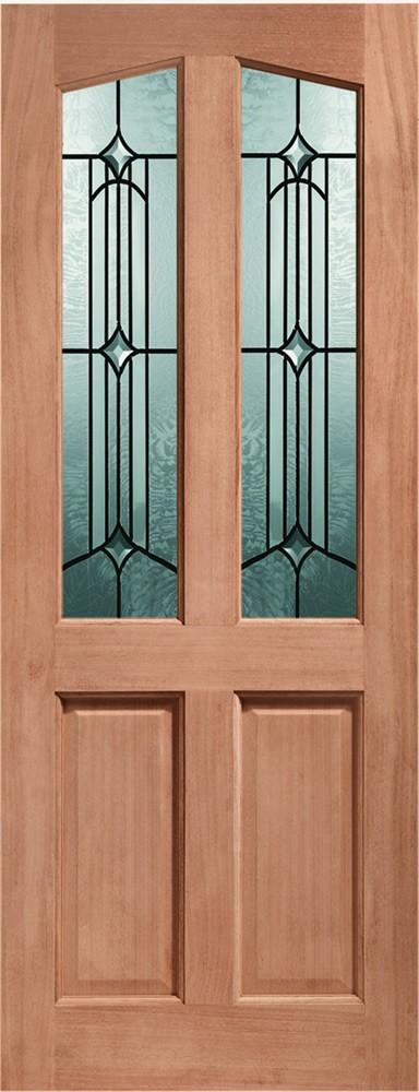 XL Joinery External Richmond Mortice & Tenon Door With Donne Glass