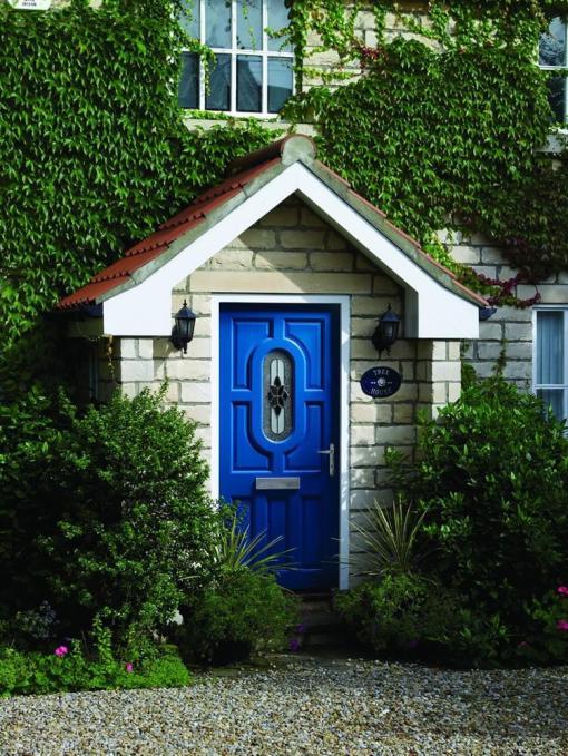 XL Joinery External Hardwood Acacia Door With Chesterton Glass