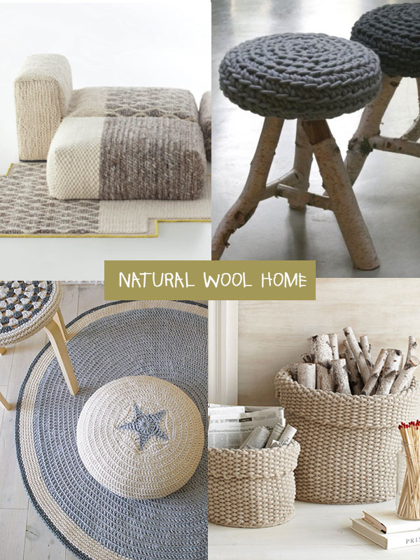 natural wool home arredi in lana