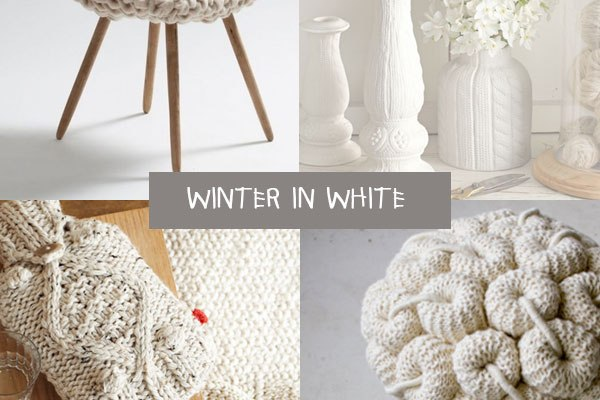 white for winter home - arredi bianchi in lana