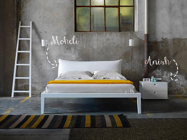 Letti design offerte Moheli.