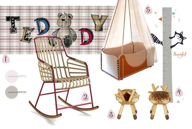 I consigli della home stylist: arredare la cameretta del bebè.