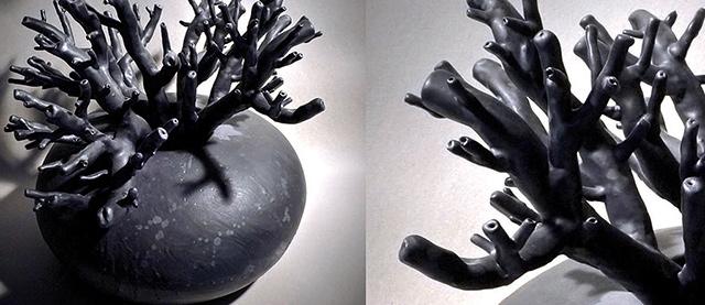 Fos naturalia: vaso di design in ceramica.
