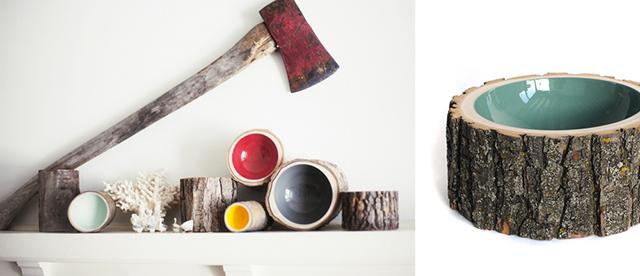 vasi casa design in legno