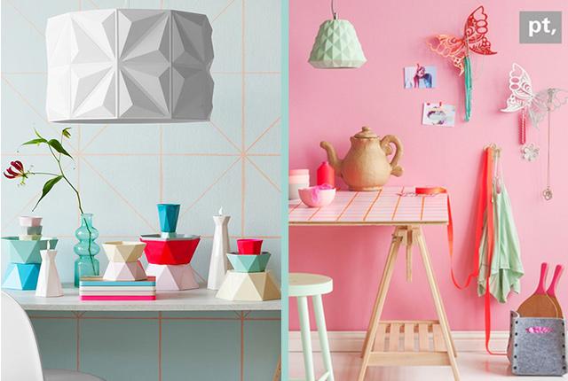 Tendenze arredamento casa: ripassando la geometria.