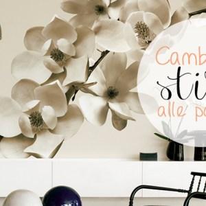 Immagine di copertina cambia stile alle pareti.