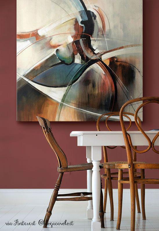 immagine di parete dal colore Pantone marsala 18-1438