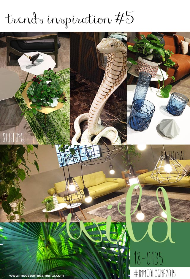 Immagine di moodboard immcologne2015 wild and green.