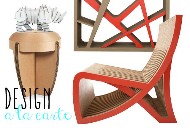 Carta & Co. i mobili in cartone.
