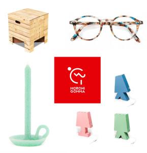 Immagine di prodotti fuorisalone di Moroni Gomma.