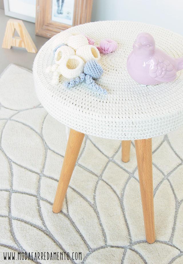 tavolino handmade per il giveeaway di modaearredamento.