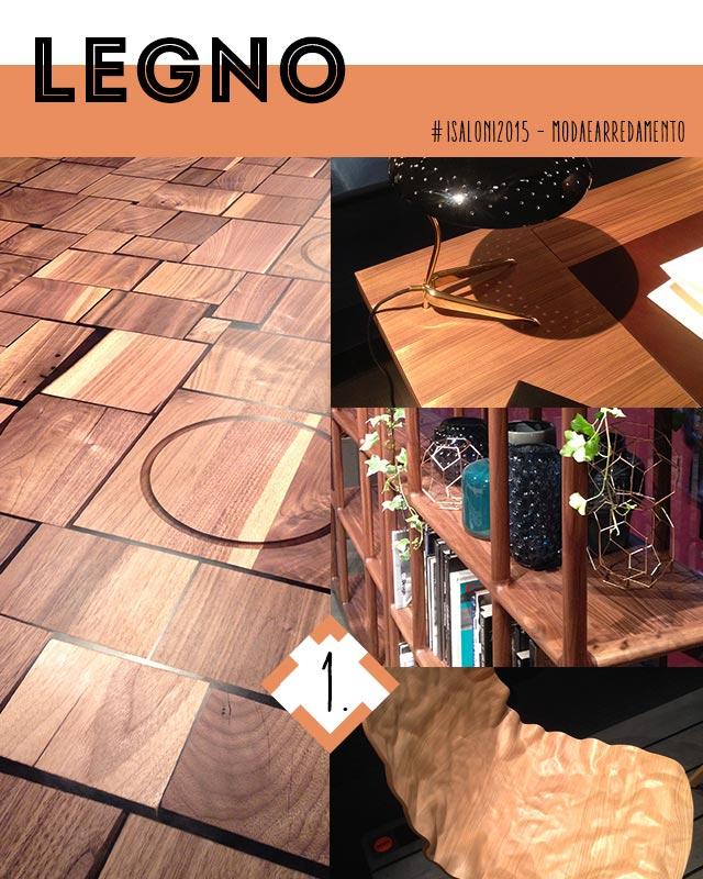 Colori e materiali 2015 : legno.