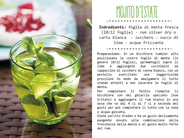 Ricetta del Cocktail Mojito.