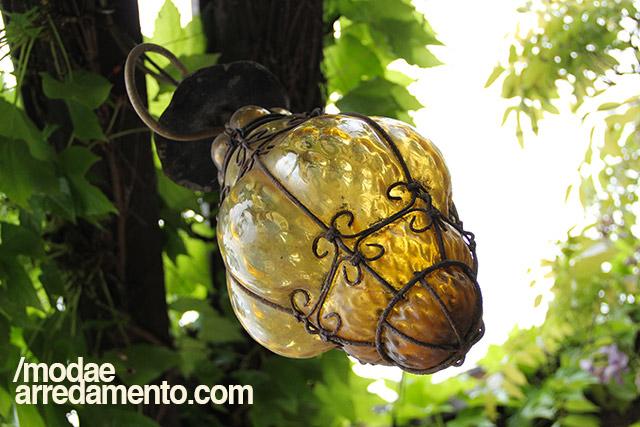 Le lanterne in vetro di murano per l 39 arredo outdoor for Lanterne arredo