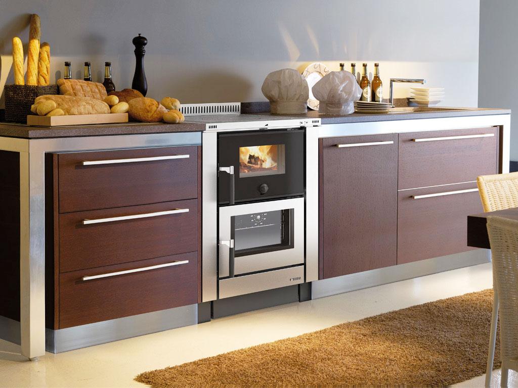 Cucine a legna moderne dalla tradizione al design
