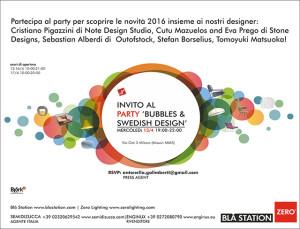 Invito Salone mobile 2016 - Bla Station