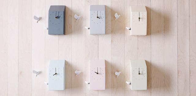 Orologio da parete design Cuckoo clock - tutti i colori.