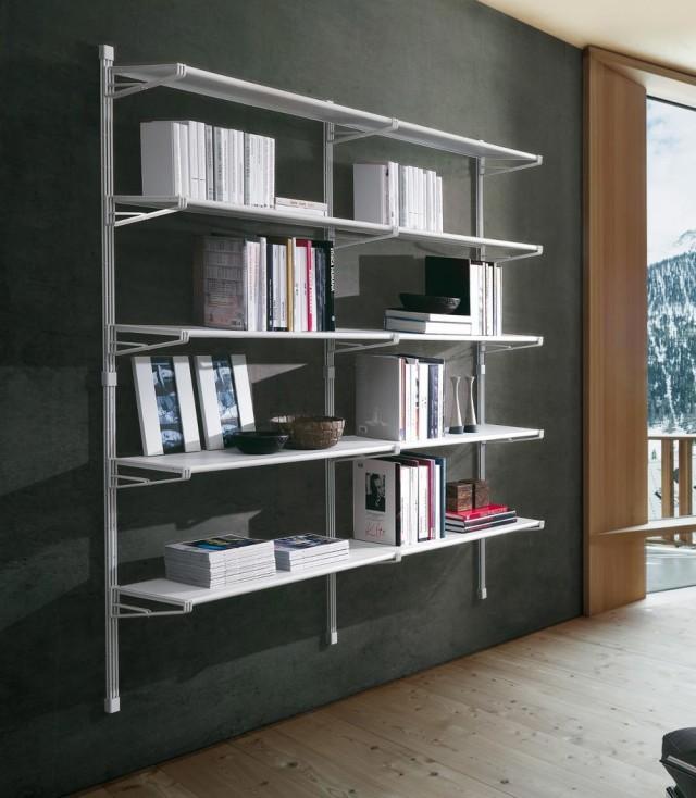 Marius libreria a parete.