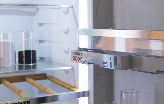 Hoover frigorifero con vanity box.