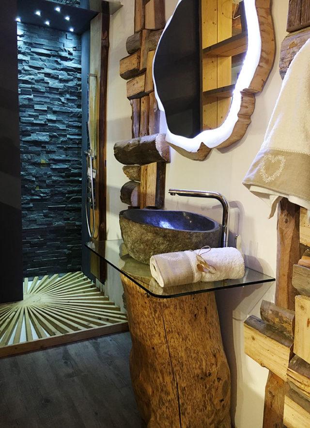 Arredare in montagna: il bagno moderno.