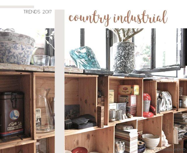 Home trends 2017: uno degli stili che vedremo sarà proprio il country industrial.