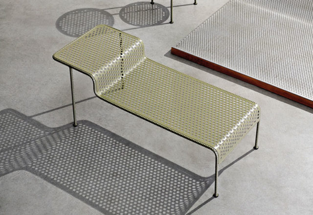 Diesel Tavolino a due piani della collezione work.