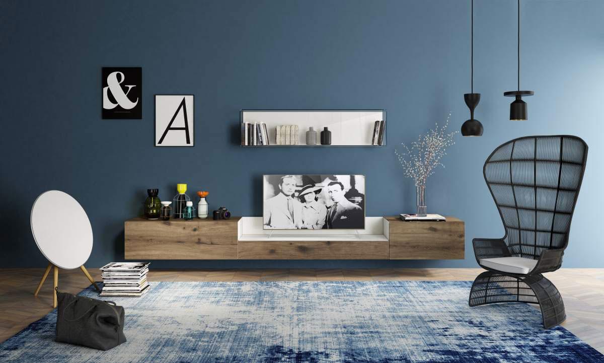 Scegliere la dimensione del tappeto salotto camera e for Mobile basso sala da pranzo