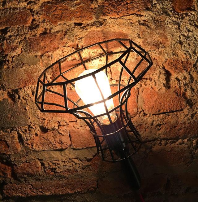 Zava lampada da parete Cantiere.