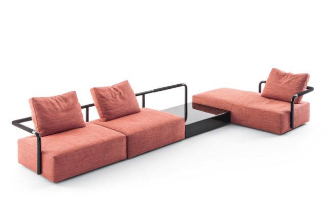 Cassina Soft propos divano novità salone del mobile.