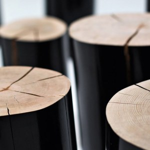 Il legno in casa con i tronchi di Gervasoni.