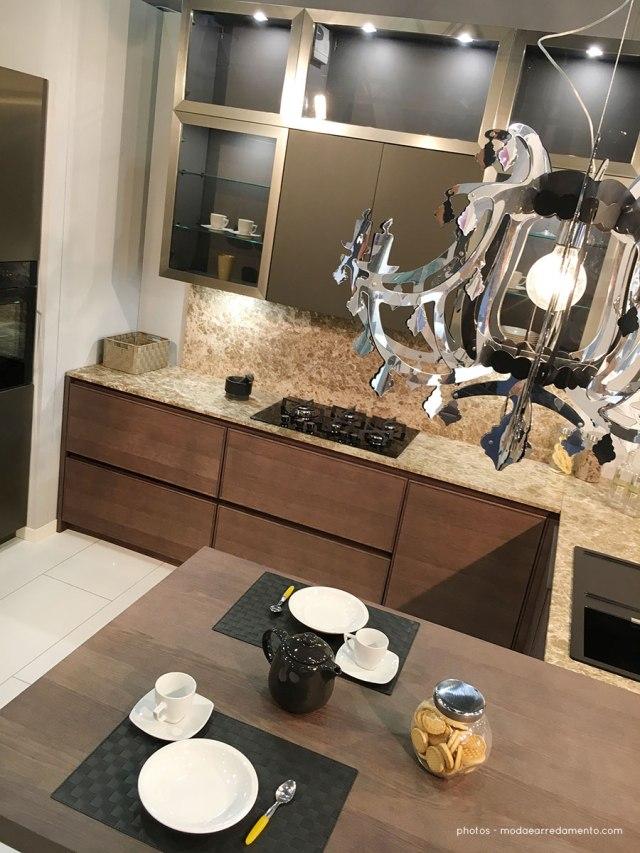 Doimo cucine- speciale report da Casa Moderna 2017 Cucina Soho dettagli funzionali.