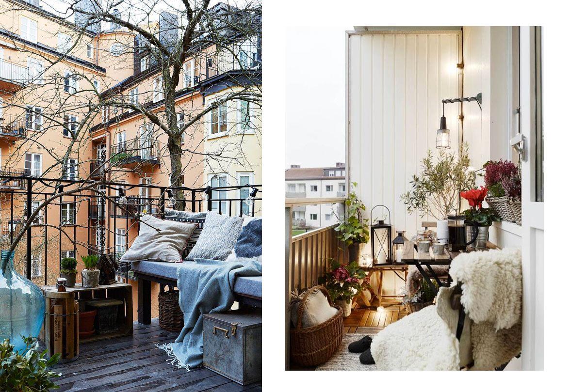 Arredi Per Piccoli Balconi : Balcone invernale piante e arredi per un look perfetto