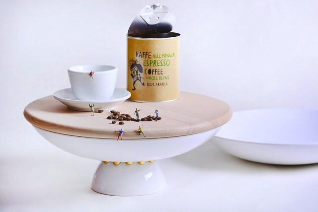 Atelier Macrame collezione Entrae - le grand plate - design Laura Calligari.