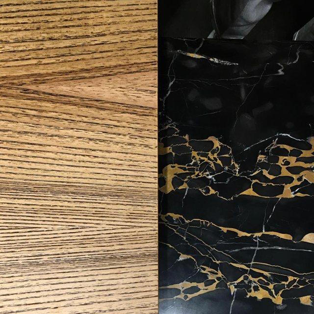 Marmo e legno - Eurocucina 2018