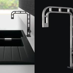Rubinetto per il bagno ONE-a | webert design Massimiliano Settimeli