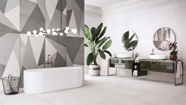 Refin ceramiche collezione Plain - bagno.