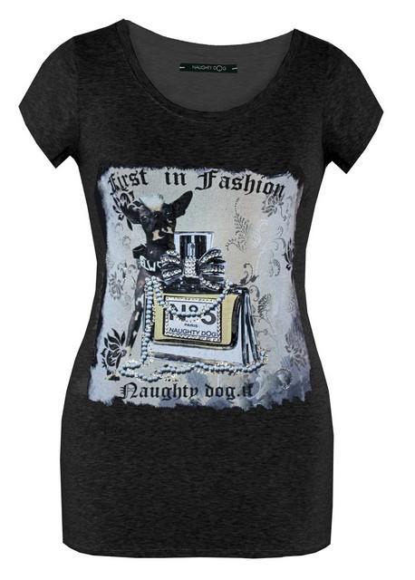 Sfacciatamente glamourous le tshirt di Naughty Dog  Moda