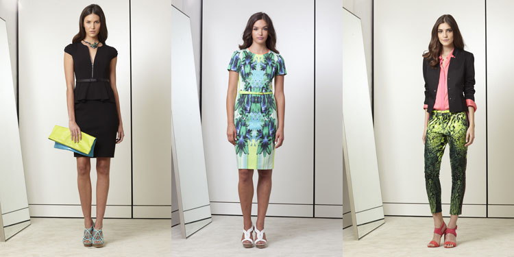 looks color lime tendencias moda