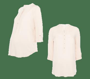 0fad2664d Blusa en rosa de premamá. by Moda en Calle. Blusa rosa de premamá del  catálogo de Primark online ...