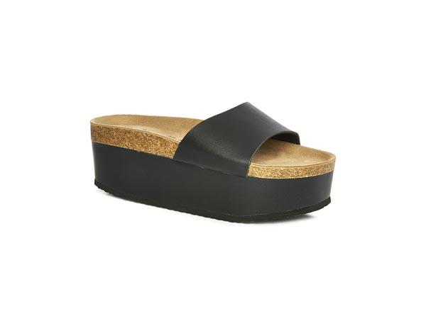 Sandalias plataforma: 10 euros